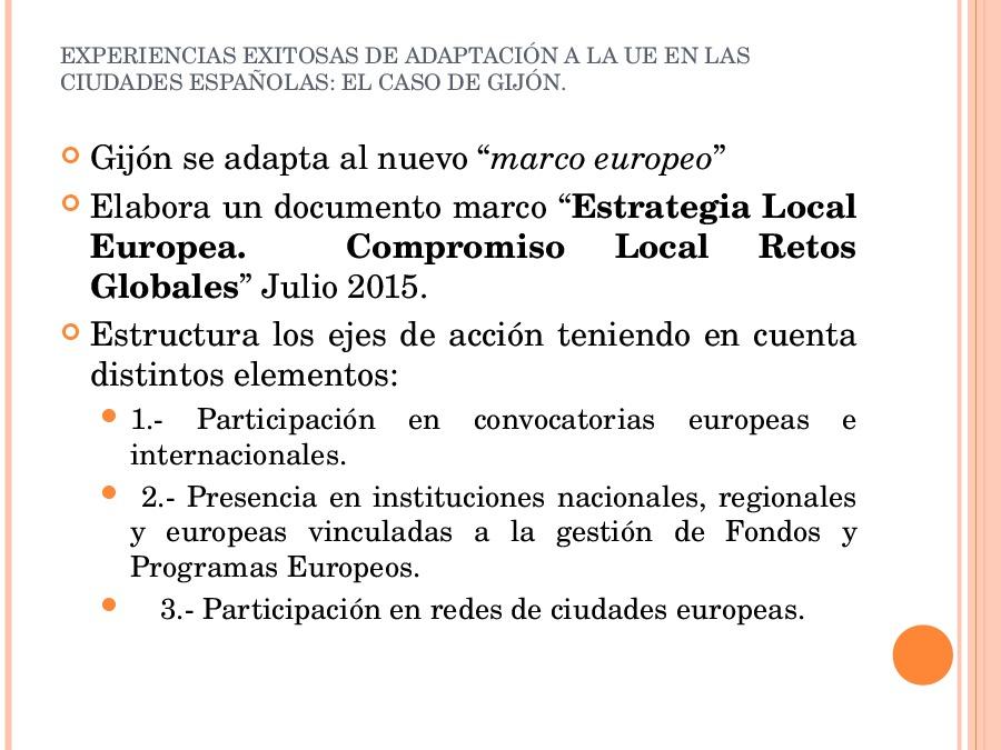 O caso de Gijón